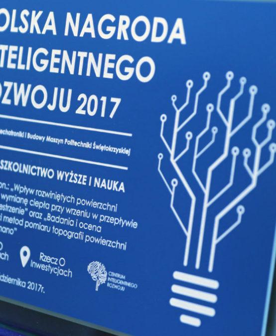 Nagroda dla Wydziału Mechatroniki i Budowy Maszyn za wkład w rozwój gospodarki