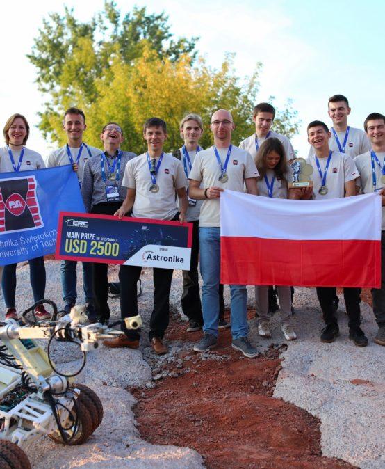 JESTEŚMY NAJLEPSI W EUROPIE Wielki sukces Wydziału Mechatroniki i Budowy Maszyn na zawodach ERC 2021