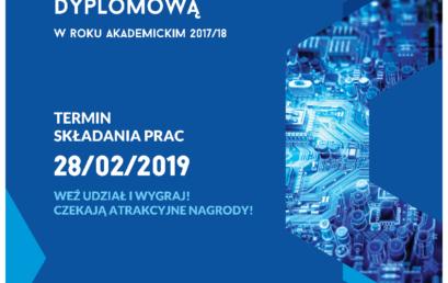 II edycja konkursu na najlepsze prace dyplomowe – zgł. do 28 II 2019