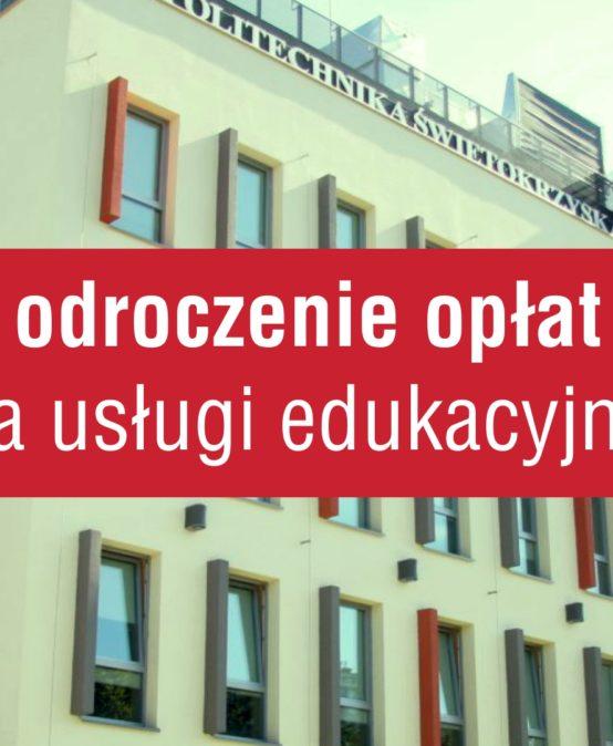 Odroczenie opłat za usługi edukacyjne
