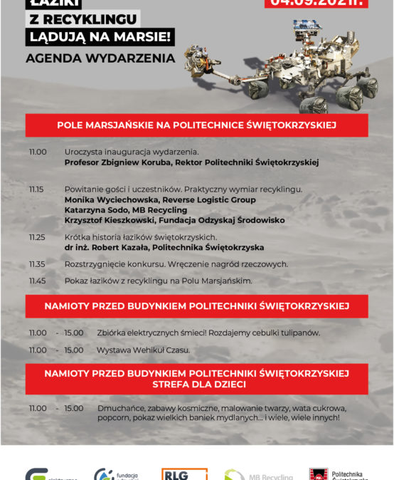 Łaziki z recyklingu na Politechnice Świętokrzyskiej 4.09.2021 11-15 Kampus PŚk